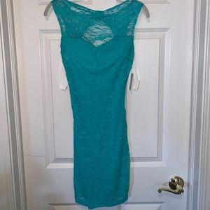 Teal Lace Dress (Never Worn with Tag!)